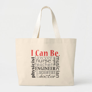 I can be tote bags