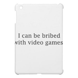 I Can Be Bribed With Video Games iPad Mini Covers