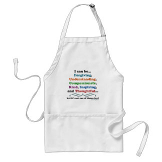 I can be Forgiving Adult Apron