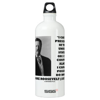 I Can Be President Of The United States Or Control Water Bottle