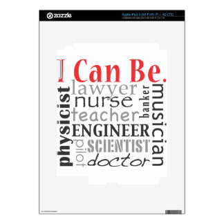 I can be iPad 3 decal