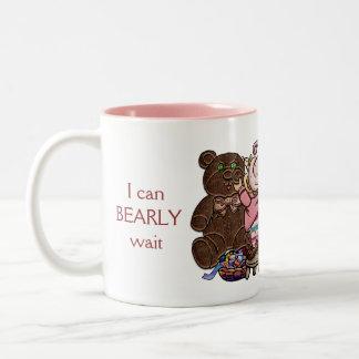 I can BEARLY wait for Christmas! Two-Tone Coffee Mug