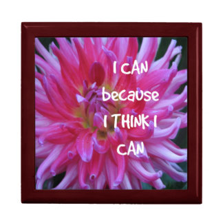 I Can Because I Think I Can Jewelry Box