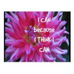 I Can Because I Think I Can Postcard