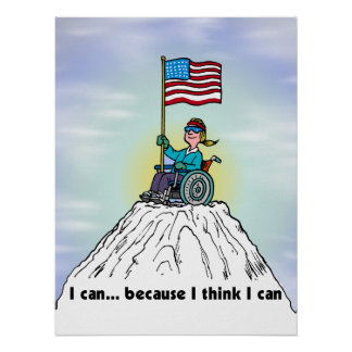 I can because I think I can Print