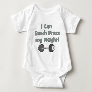 I can bench press my own weight tee shirts