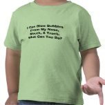 I Can Blow Bubbles From My Nose, Mouth, & Trach... Tee Shirt