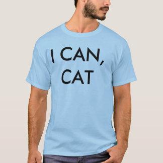 i can cat u don't dog tee