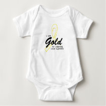 I Can Chang Future Childhood Cancer Awareness Baby Bodysuit