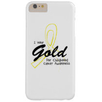 I Can Chang Future Childhood Cancer Awareness Barely There iPhone 6 Plus Case