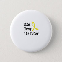 I Can Chang Future Childhood Cancer Awareness Button