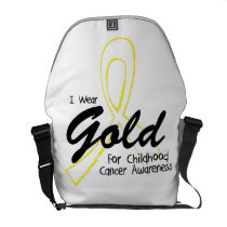 I Can Chang Future Childhood Cancer Awareness Courier Bag