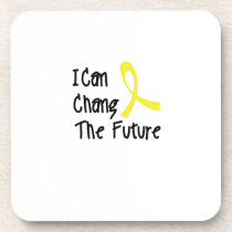 I Can Chang Future Childhood Cancer Awareness Drink Coaster
