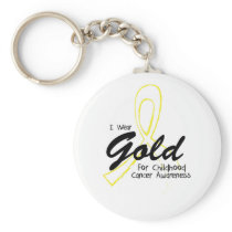 I Can Chang Future Childhood Cancer Awareness Keychain