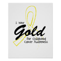 I Can Chang Future Childhood Cancer Awareness Poster