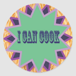 I Can Cook Sticker