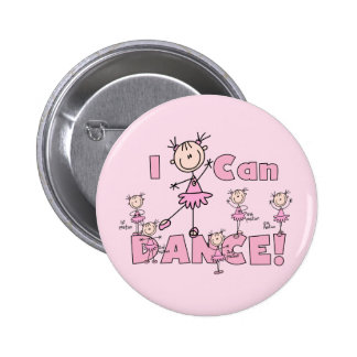 I Can Dance T-shirts and Gifts Pin