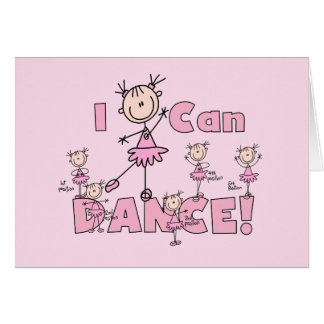 I Can Dance T-shirts and Gifts Card
