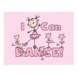 I Can Dance T-shirts and Gifts Postcard