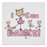 I Can Dance T-shirts and Gifts Print