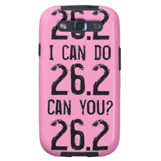 I can do 26.2 -- Can you? Galaxy SIII Cover