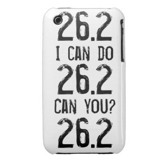 I can do 26.2 -- Can you? iPhone 3 Cover