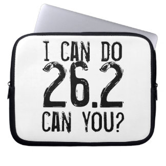 I can do 26.2 -- Can you? Laptop Sleeve