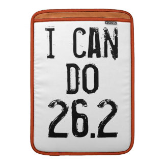 I can do 26.2 -- Can you? MacBook Sleeve