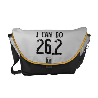 I can do 26.2 -- Can you? Messenger Bag