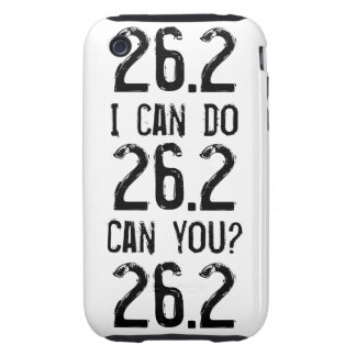 I can do 26.2 -- Can you? Tough iPhone 3 Case
