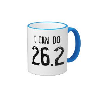 I can do 26.2 - left-handers ringer mug