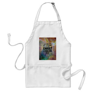 I can do all things adult apron