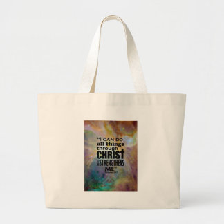 I can do all things canvas bags