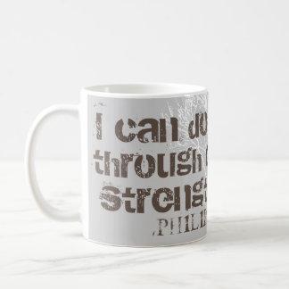I Can Do All Things Christian Men Scripture Coffee Mug