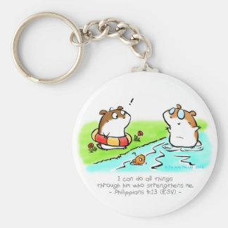 I Can Do All Things Keychain