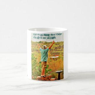 I Can Do All Things Thro' Christ Coffee Mug