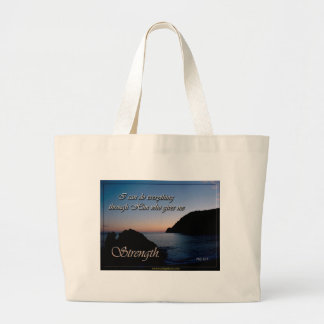 I Can Do All Things Through Christ Tote Bags