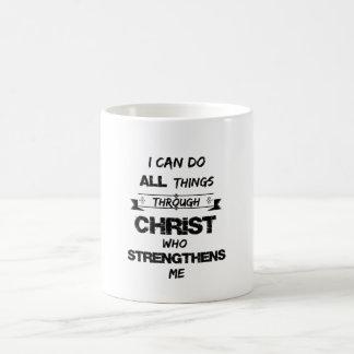 I Can do all things through Christ Bible Verse Coffee Mug