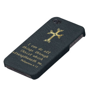 I can do all things through Christ iPhone 4 Cases