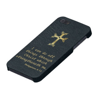 I can do all things through Christ iPhone 5 Case