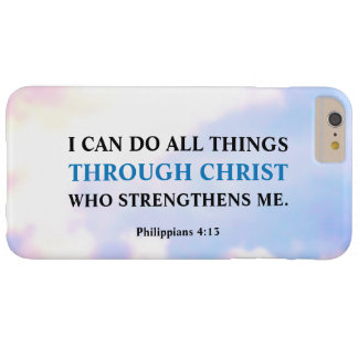 I Can Do All Things Through Christ iPhone 6 Plus Barely There iPhone 6 Plus Case