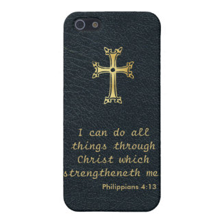 I can do all things through Christ iPhone SE/5/5s Case