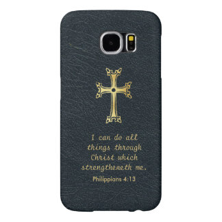 I can do all things through Christ..... Samsung Galaxy S6 Case