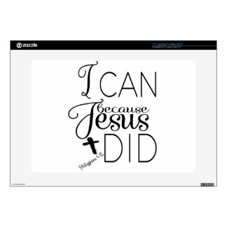 I Can Do All Things Through Christ Skin For Laptop