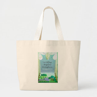I can do all things through Christ who strengthens Tote Bag
