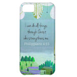 I can do all things through Christ who strengthens Cover For iPhone 5C