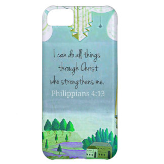 I can do all things through Christ who strengthens iPhone 5C Case
