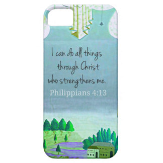 I can do all things through Christ who strengthens iPhone SE/5/5s Case