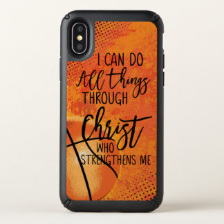 I can do all things through christ who strengthens speck iPhone x case