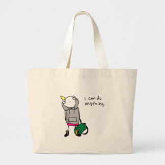 I can do anything. canvas bags